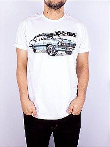 Camiseta Maverick GT Branca.