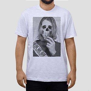 Camiseta Kurt Caveira.