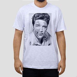 Camiseta Elvis Zombie.