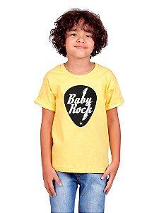 Camiseta Infantil Baby Rock Gema