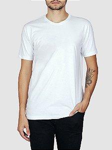 Camiseta Básica Branca.