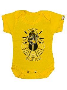 Body Bebê Amplificado Amarelo