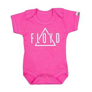 Body Bebê Pink Floyd Rosa