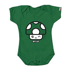 Body Bebê Minha Vida Verde