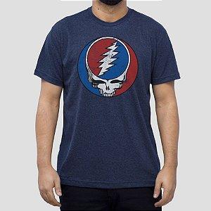 Camiseta Grateful Dead Marinho Indigo.