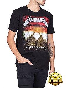 Camiseta Metallica Master Of Puppets Preta