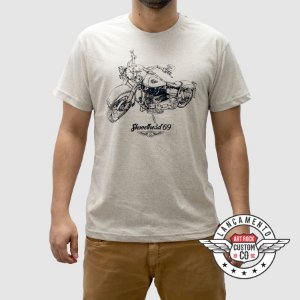 Camiseta Moto Shovelhead Botonê Gelo.