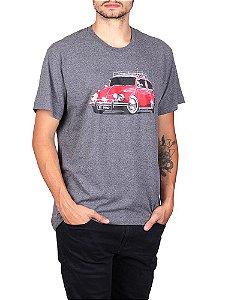 Camiseta Fusca Bagageiro Grafite.