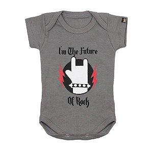 Body Bebê Futuro do Rock Chumbo