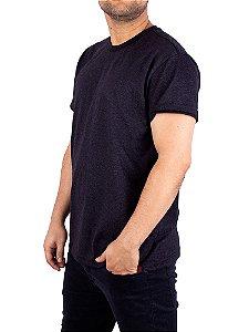 Camiseta Mesclada Premium Preta Jaguar.