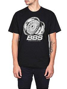 Camiseta Roda BBS Preta.