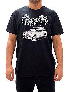 Camiseta Chevette Tubarão Preta.