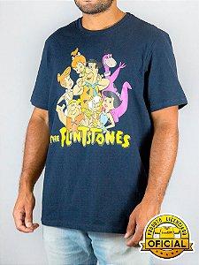Camiseta Flintstones Marinho