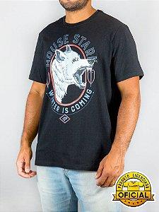 Camiseta Game of Thrones House Stark Preta