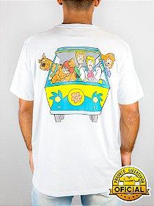 Camiseta Scooby Doo Máquina de Mistério Branca