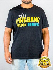 Camiseta The Big Bang Theory Preta