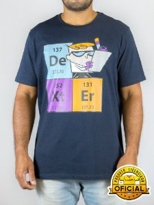 Camiseta Cartoon Network Dexter Marinho