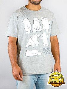 Camiseta Ursos Sem Curso Yoga Mescla