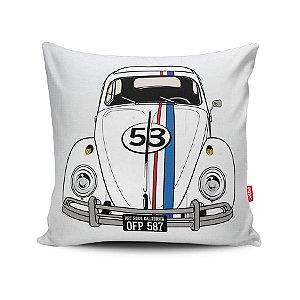 Capa de Almofada Decorativa Fusca Herbie