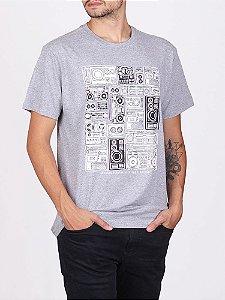 Camiseta Boombox Mescla.