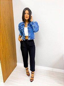 Jaqueta Jeans Botões