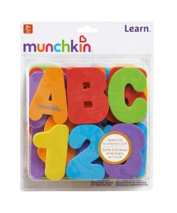 Letras e Números - Munchkin Cores Primárias