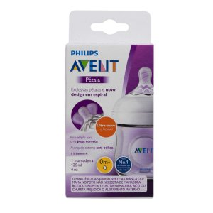 Mamadeira Pétala Transparente - Philips Avent 125ml