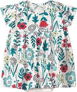 Body Vestido Floral - Marisol Baby