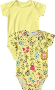 Kit Bodies Flowers - Marisol Baby 2 Peças