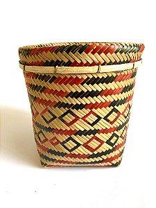 Urutu Baniwa - Médio - Preto e Vermelho