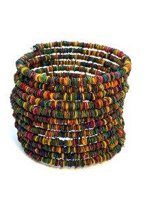 Bracelete Sementes de Morototó - Colorido