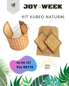 Kit Kubeo Natural