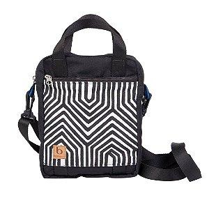 Shoulder Bag BossaPack Origens Preta | Kayapó