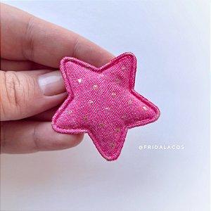 Estrela Poá P (Presilha Antideslizante/Unidade)