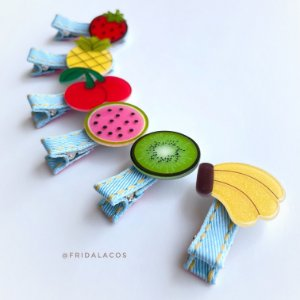 Clip Fruta M (Presilha Semi-Forrada/Unidade)
