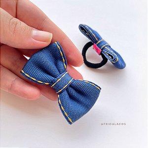 Gravatinha Jeans (Xuxinha/Unidade)