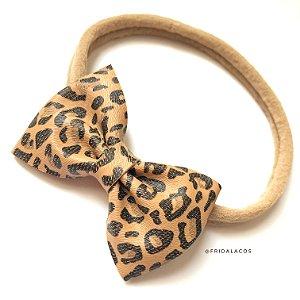 Gravatinha Animal Print P/M/G (Presilha Antideslizante ou faixinha/Unidade)