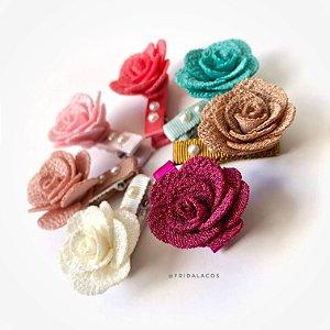 Presilha Floral Pequena (Presilha Antideslizante/Unidade)