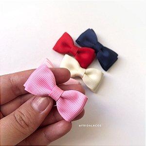 Gravatinha Dupla P (Presilha Antideslizante ou Faixinha/Unidade)