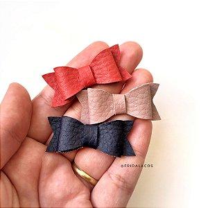 Gravatinha Couro PP (Presilha Antideslizante ou faixinha nude/Unidade)
