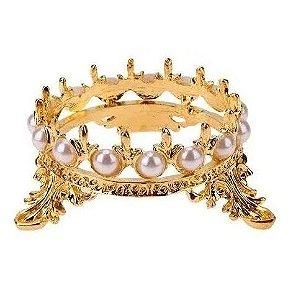 Coroa Suporte Apoio para Diamante Unhas