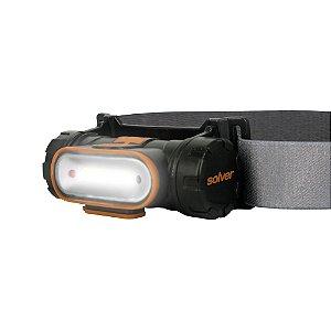Lanterna Cabeça Recarregável LED COB com Sensor SLP-12 Solver