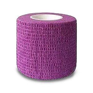 Bandagem Elástica Protetora Micropigmentação Roxa