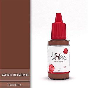 Castanho Intermediario Pigmento Iron Works 15ml