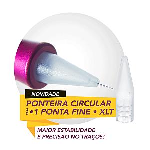 Ponteira Circular Fine Mag Estética