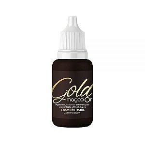 Castanho Escuro Intenso Pigmento Mag Color Gold 15ml
