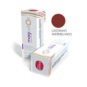 Castanho Avermelhado Pigmento Mag Color 15ml