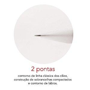 Agulha Rosca 2 Pontas Mag Estética