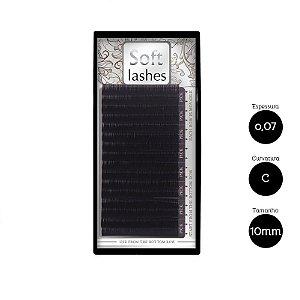 Cílios Alongamento Soft Premium 16 Linhas 0,07 C 10mm