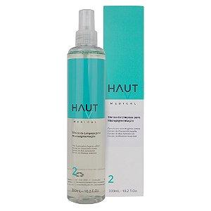 Tônico de Limpeza para Micropigmentação Haut Medical - Passo 2 - 300ml